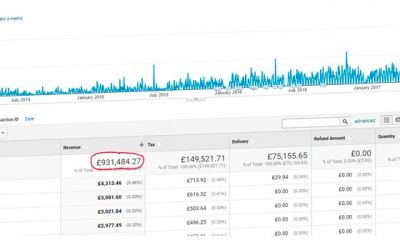 SEO Consultancy in Cambridge Increasing Revenue Example