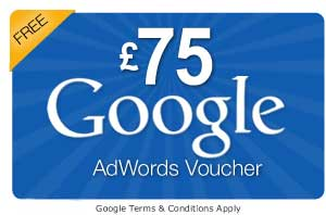 £75 of free Google advertising